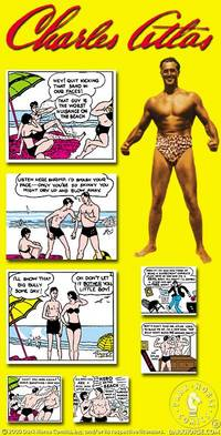 Charles Atlas Magnet Set