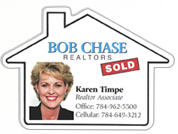Custom Real Estate Agent Magnets