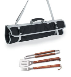Picnic Time BBQ Tote -  3 pc