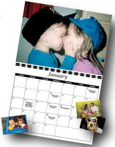 Personalized Photo Calendar - 12 Photo Calendar