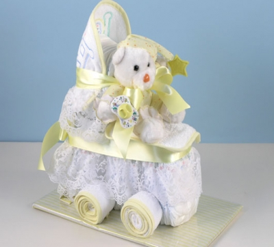 Baby Diaper Carriage (Neutral)
