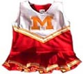 Maryland University Child Cheerleader Uniform