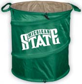 Michigan State Trash Container