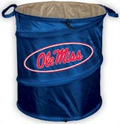 Mississippi Ole Miss Trash Container