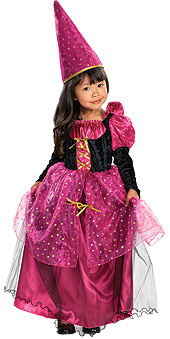 Child Magenta the Mystic Witch Costume