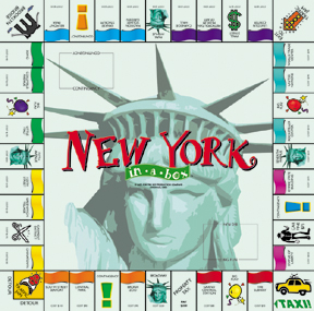 New York-in-a-Box Board Game