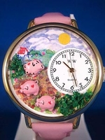 Personalized Pig Watches