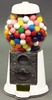 9 White Metal Gumball Machine