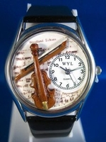 Personalized Violin Watches