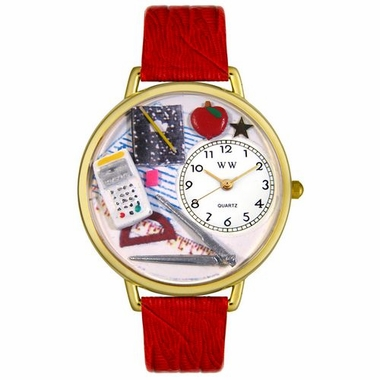 Personalized Math Teacher Unisex Watch