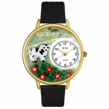 Personalized Cow Unisex Watch