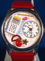 Personalized Math Teacher Watches