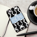 Personalized Damask iPhone Cover