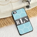 Personalized Blue iPhone Cover