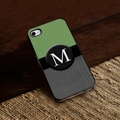 Personalized Tweed iPhone Cover