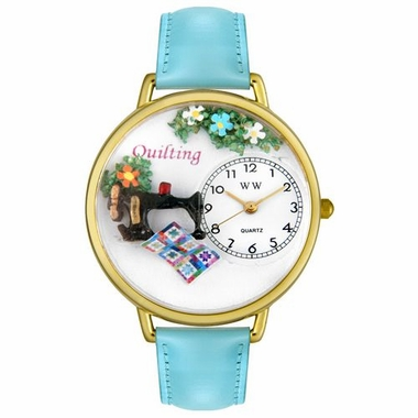 Personalized Quilting Unisex Watch