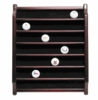 Rosewood Golf Ball Display Case - 36 Balls