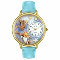 Personalized Angel with Harp Unisex Watch