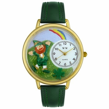 Personalized St. Patrick's Day Rainbow Watch