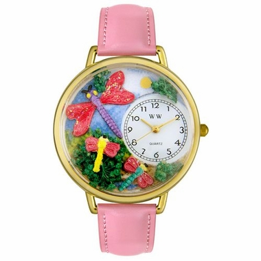 Personalized Dragonflies Unisex Watch
