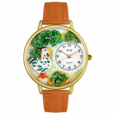 Personalized Rooster Unisex Watch