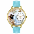 Personalized Jewelry Lover Pearls Blue Watch