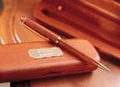Personalized Geniune Rosewood Pen & Case