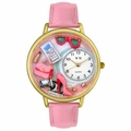 Personalized Shopper Mom Gold Watch