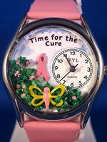 Personalized Time for the Cure Watches
