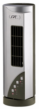 Sunpentown Mini-Tower Fan with Ionizer