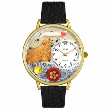 Personalized Cocker Spaniel Unisex Watch