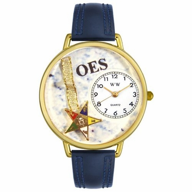 Personalized Order of the Eastern Star Watch