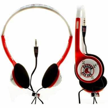 Boston Red Sox Baseball Headphones