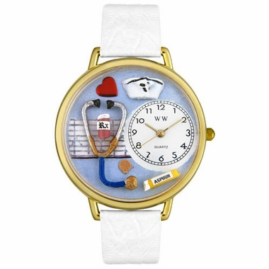 Personalized Nurse Unisex Watch