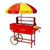 Nostalgia Electrics™ Hot Dog Cart HDC-701 Carnival w/Umbrella