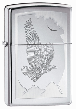 Birds of Prey Zippo Lighter