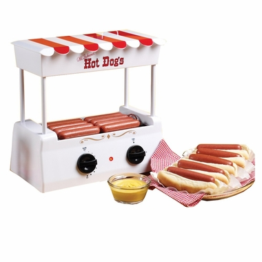 Nostalgia Electrics™ Hot Dog Roller Grill/Griddle HDR-565 Old Fashioned