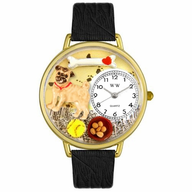 Personalized Pug Unisex Watch