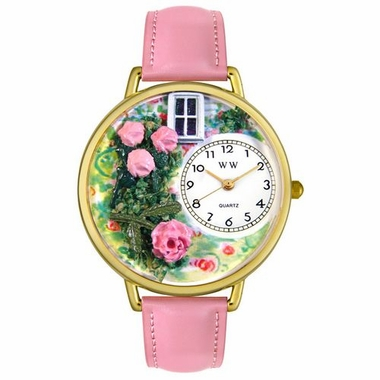 Personalized Roses Unisex Watch