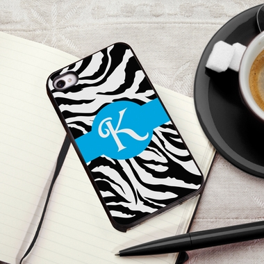 Personalized Zebra iPhone Cover