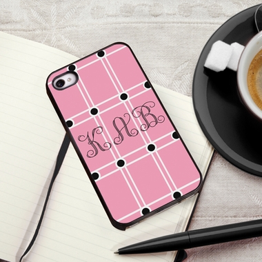 Personalized Pink iPhone Cover