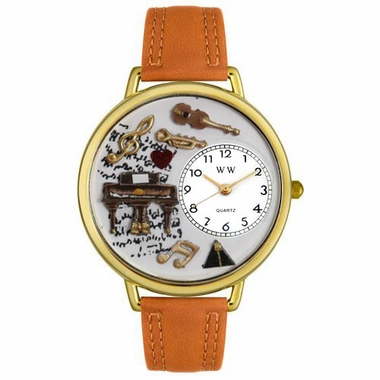 Personalized Music Piano Unisex Watch