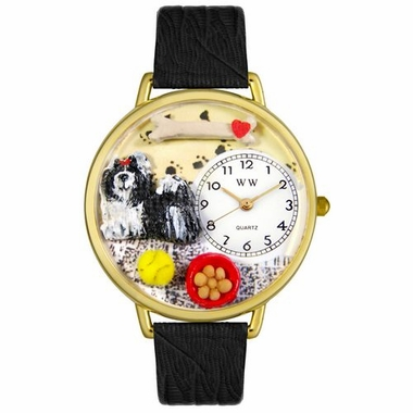 Personalized Shih-Tzu Unisex Watch