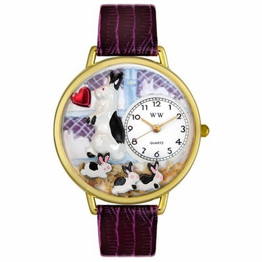 Personalized Bunny Rabbit Unisex Watch