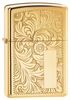 Venetian High Polish Brass Zippo Lighter