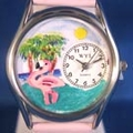 Personalized Flamingo Watches
