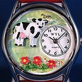 Personalized Cow Watches