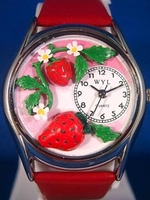 Personalized Strawberries Watches