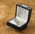 Personalized Sterling Silver Plated Cufflinks