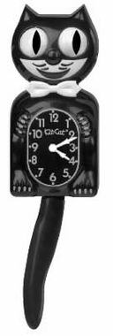 Kit Cat Clock - Black